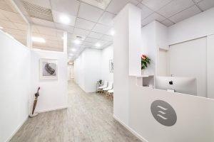 Recepción Clínica Fisioterapia y Osteopatía Valladolid